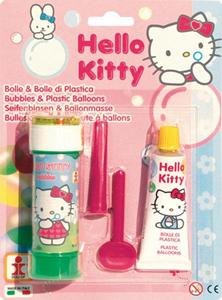 Giocattolo Bolle Sapone + Cristallo Hello Kitty Dulcop 1