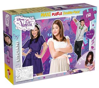 Giocattolo Puzzle double face Supermaxi 150 pezzi Violetta Tit 2 Lisciani 3