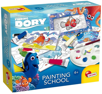 Giocattolo Painting School Alla ricerca di Dory Lisciani 2