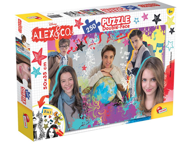 Giocattolo Puzzle Double-Face Plus 250 pezzi Alex & Co 1 Lisciani 1