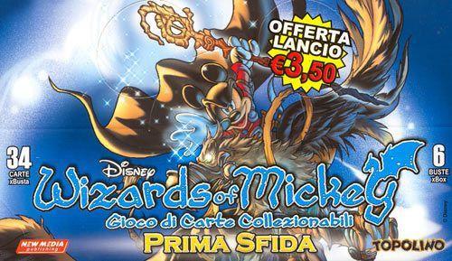 Giocattolo Wizards of Mickey Prima Sfida Buste 6 pz New Media 2