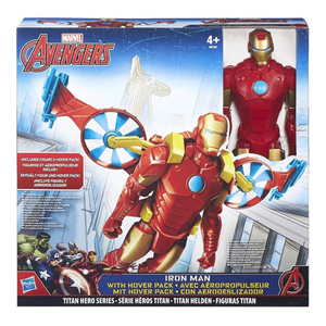 Giocattolo Figure Avengers Iron Man + Veicolo Hasbro 2