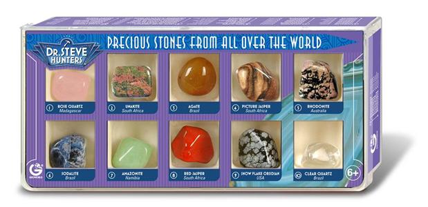 Giocattolo Precious Stones From All Over The World. 10 Stones Geoworld 1