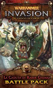 Giocattolo Warhammer Lcg Invasion Ed It. La Caduta di Karak Grimaz Giochi Uniti 1