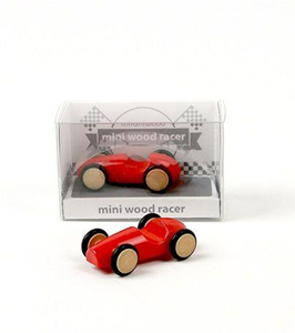 Giocattolo Mini Wood Racer Rosso X 1 Milaniwood 1