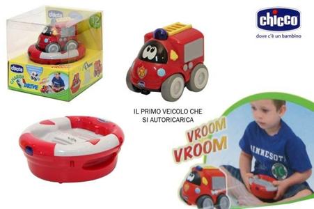Giocattolo Charge & Drive Pompieri Chicco Chicco 1