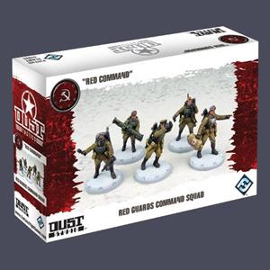 Giocattolo Dust Tactics. Red Guards Command Squad Giochi Uniti 1