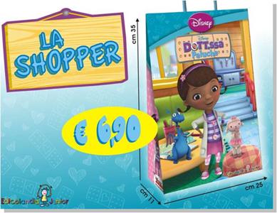 Giocattolo Dottoressa Peluche. Shopper Disney 1